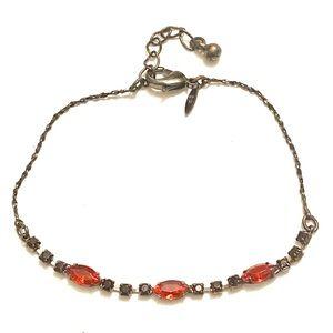 AVON Red Rhinestone bracelet